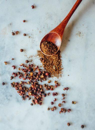 come preparare pepe del sichuan in polvere