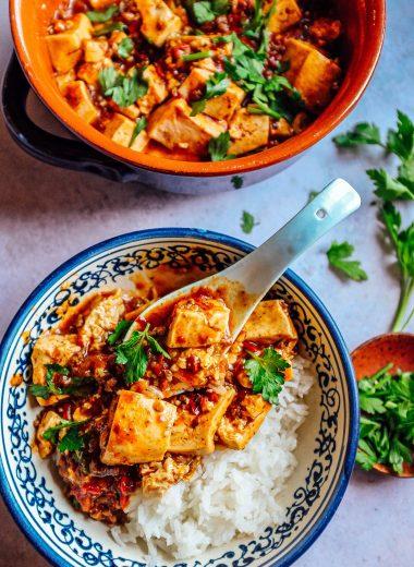 mapo tofu cibo piccante