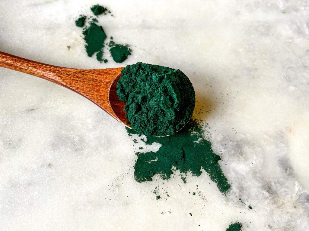polvere di alghe