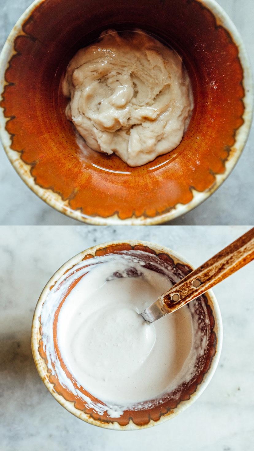 la salsa di tahina