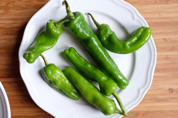peperoni per straccetti di manzo con verdure