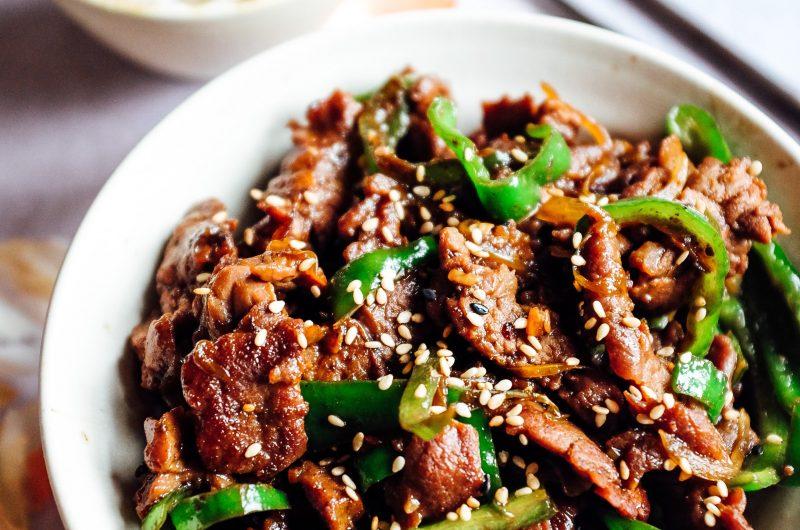 Straccetti Di Manzo Saltato Con Verdure Cina In Tavola