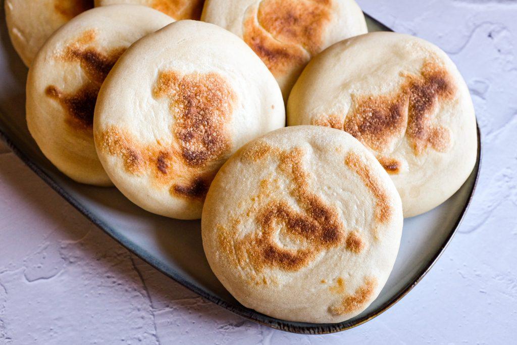 pane di Xian alla piastra