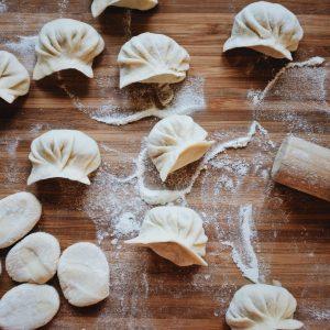corso di cucina online: ravioli cinesi di carne