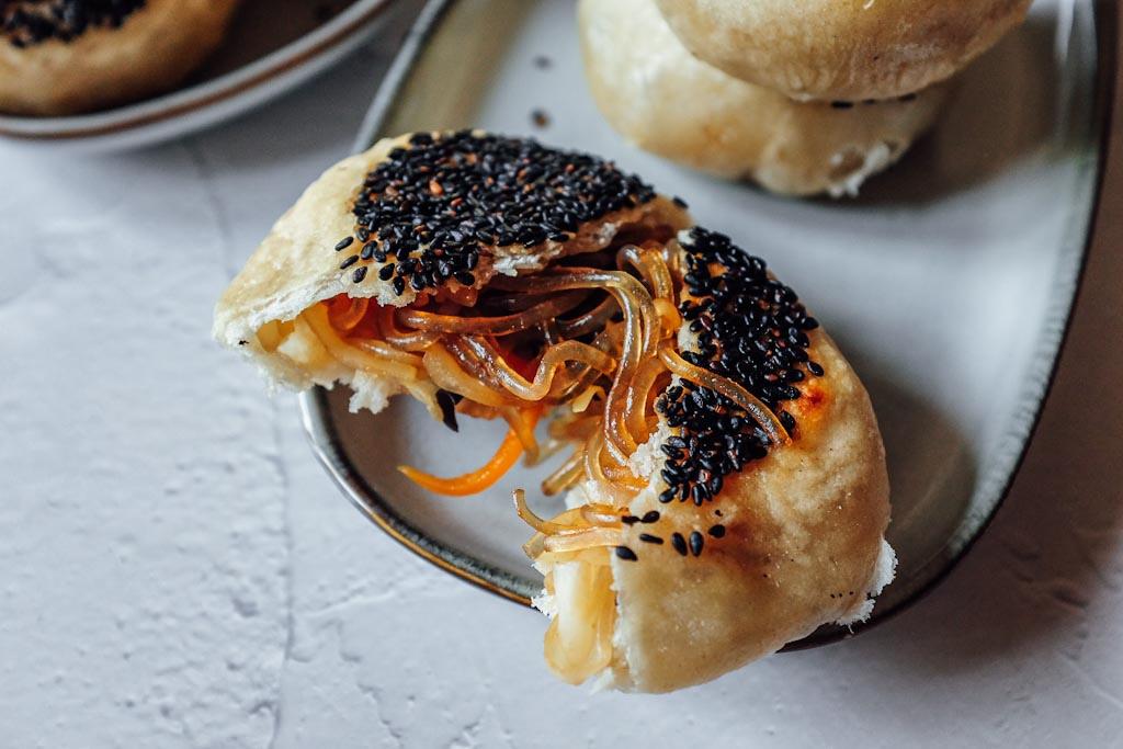 Pizzette cinesi in padella, ricetta vegetariana e facilissima