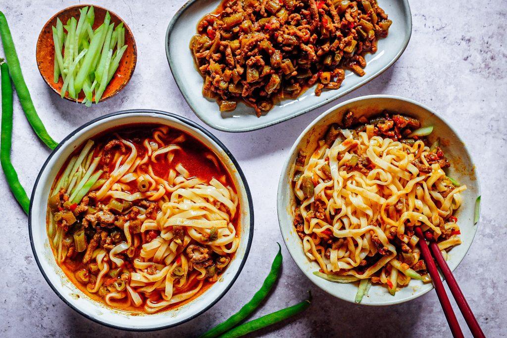 Sugo di carne e fagiolini: un sugo perfetto per un buon piatto di noodles